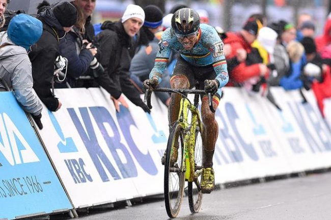 Ciclocross. Trionfo di Toon Aerts