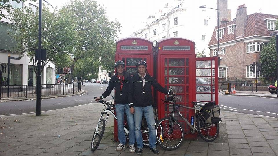 Parigi Londra in bicicletta
