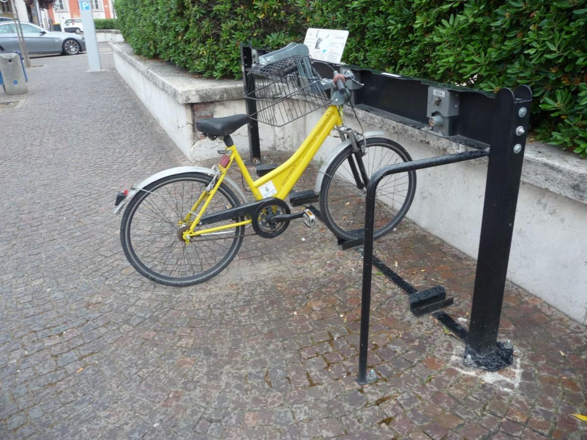 """""""bike sharing"""" a Latina"""