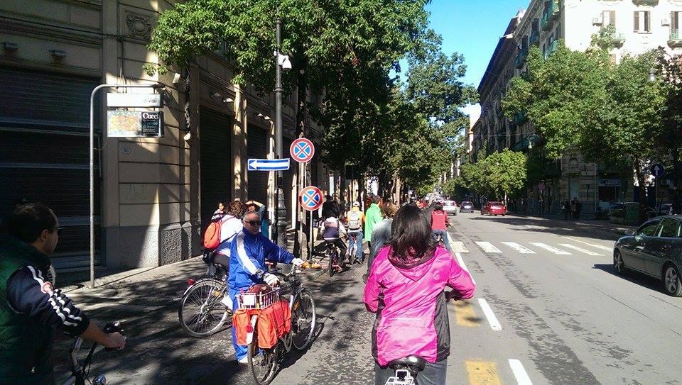 Nuove piste ciclabili a Palermo