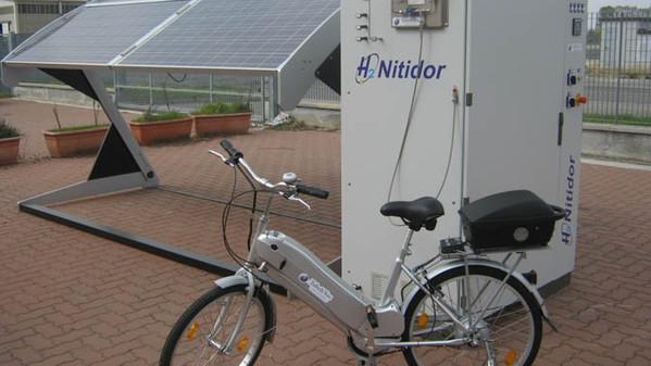 La nuova bicicletta ad idrogeno