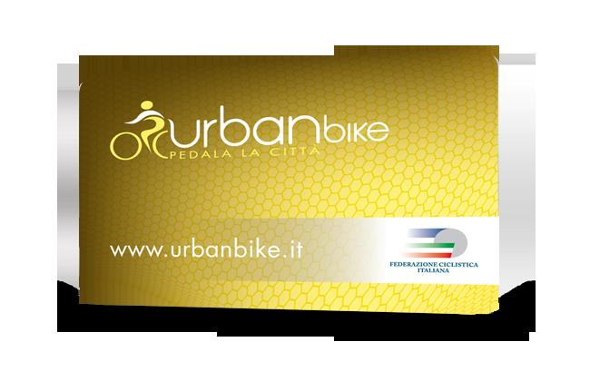 La nuova tessera UrbanBike