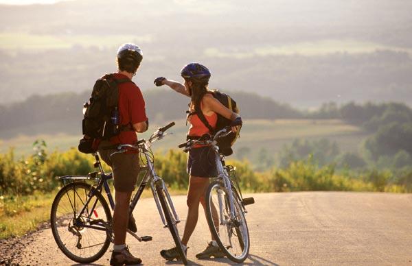 Accessori e abbigliamento per viaggiare in bicicletta