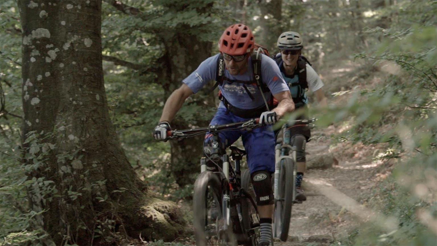 MTB sulla Spoleto-Norcia con Richie Schley