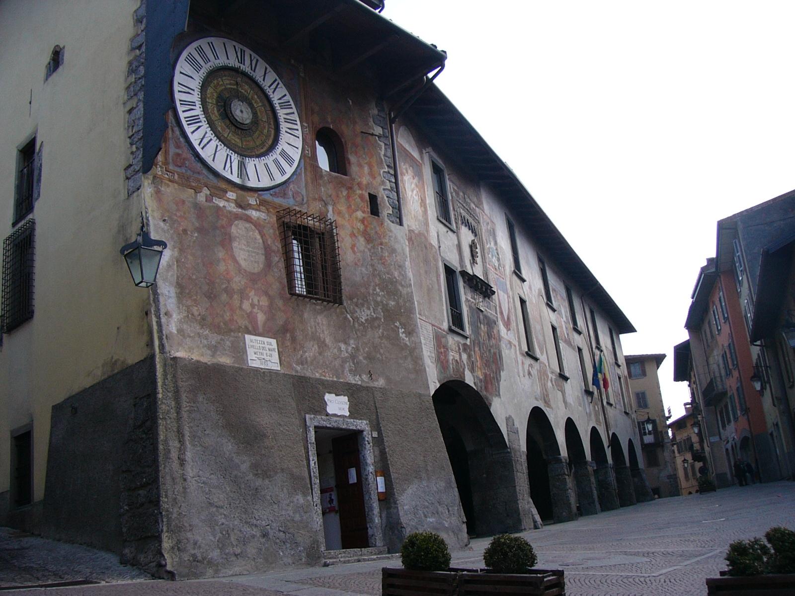 Piazza dell'orologio -Gianfranco Massetti