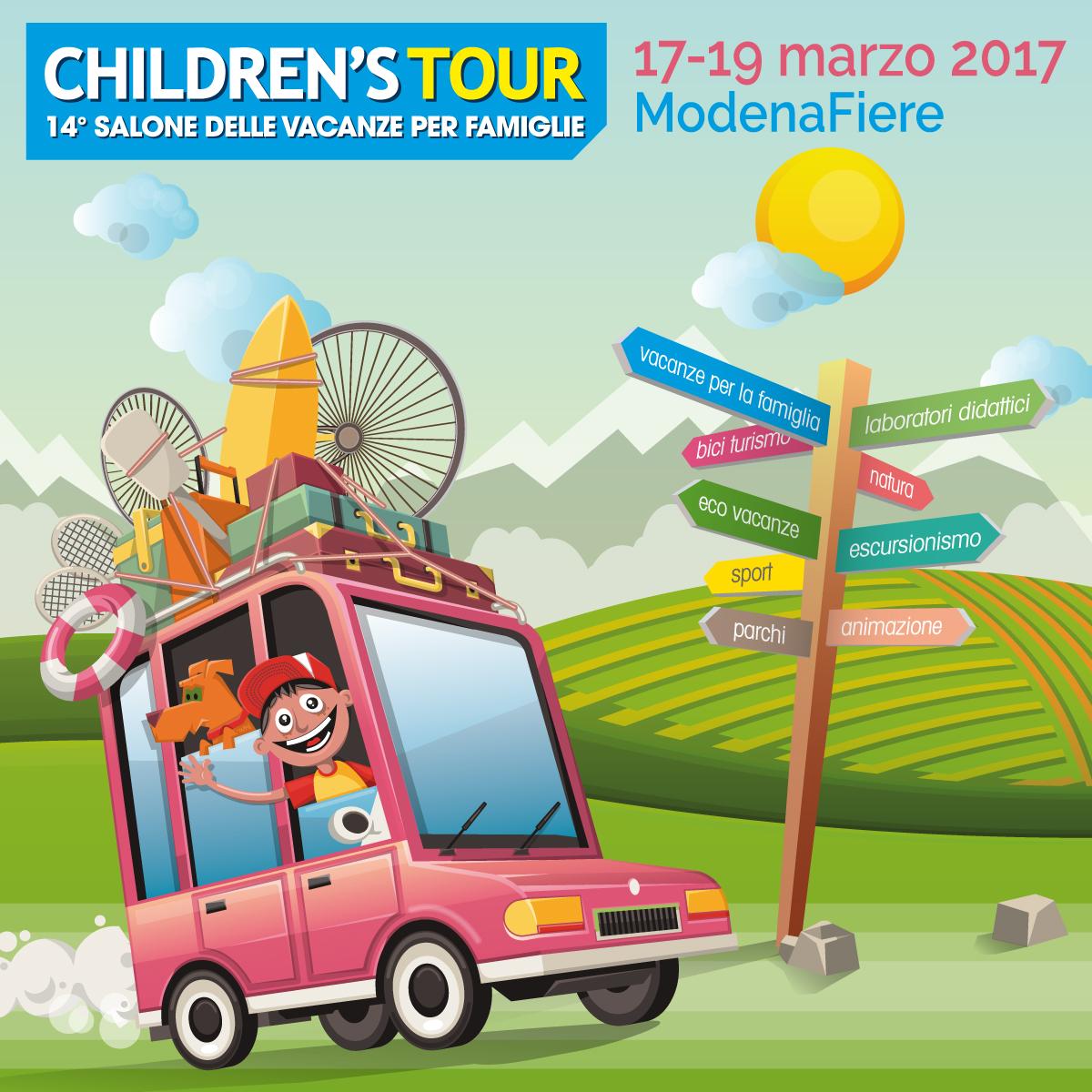 Children's Tour – 14° Salone delle Vacanze per Famiglie