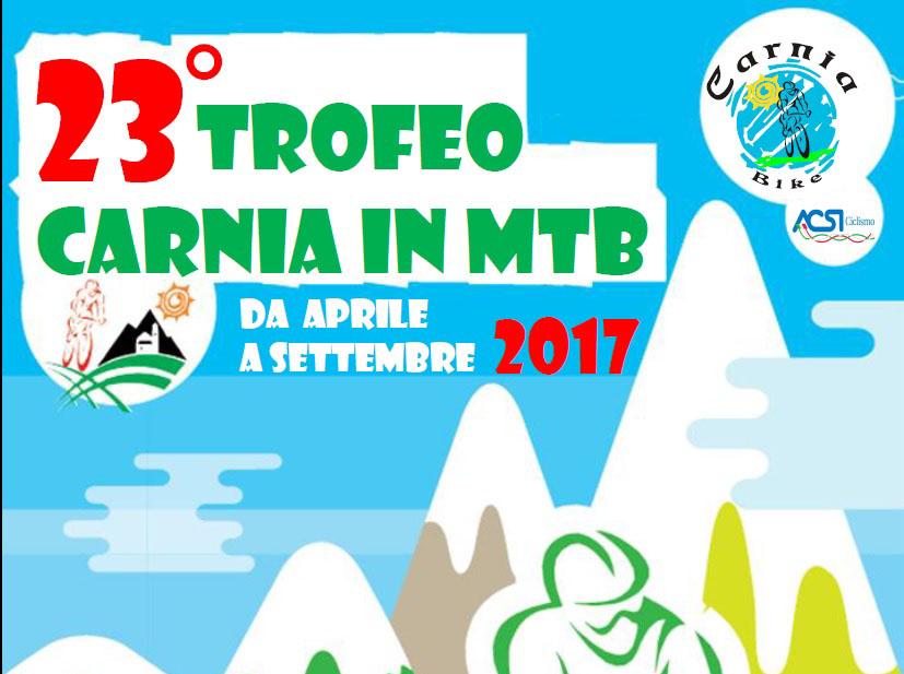 30/04 – 3/09: Trofeo Carnia in MTB 2017