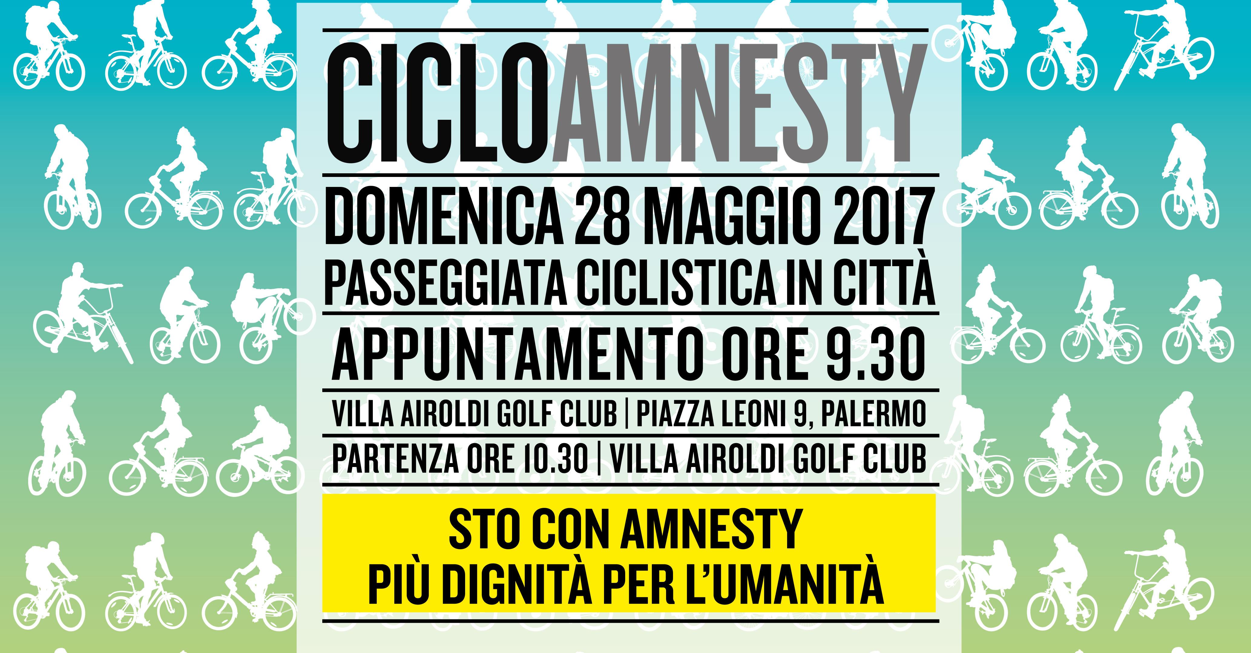 CICLOAMNESTY 2017 – 28 Maggio
