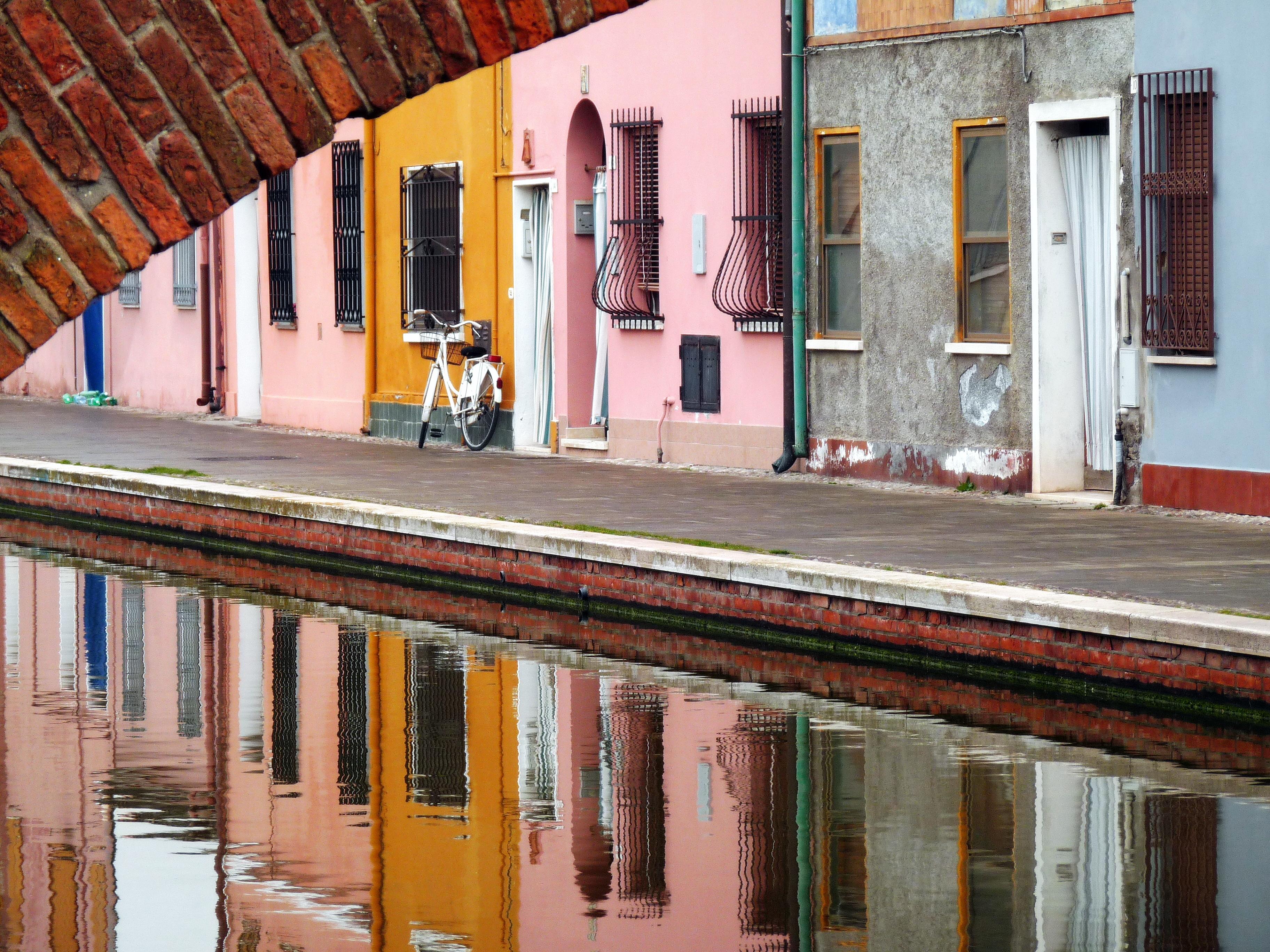 In bicicletta tra Ferrara e Comacchio
