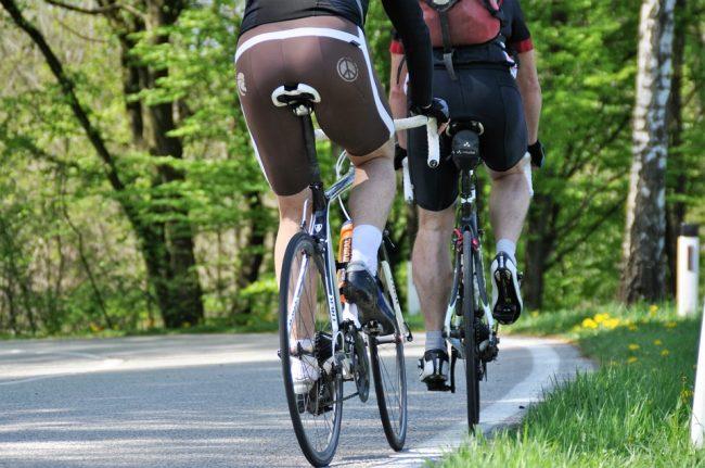 La tendinite nel ciclismo