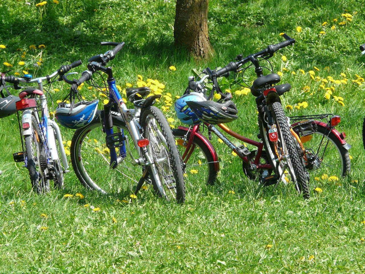 Fare cicloturismo con i bambini