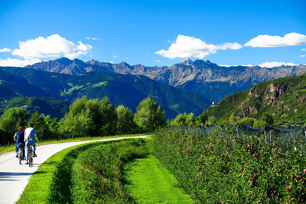 Il cicloturismo in Alto Adige