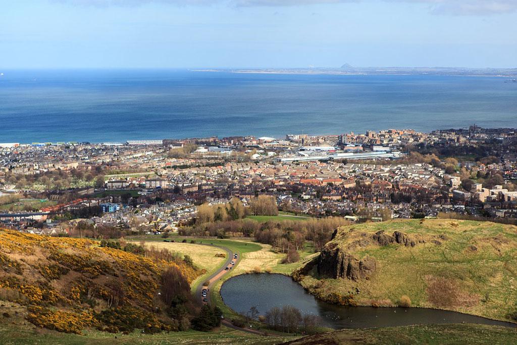 Cicloturismo a Edimburgo