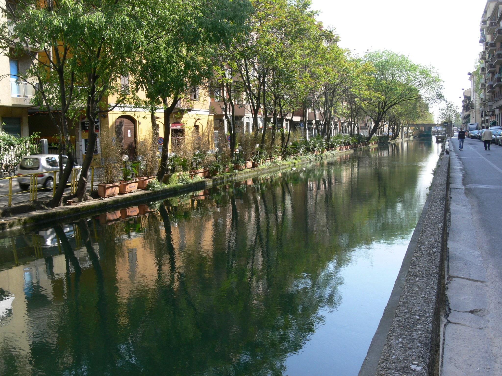 Percorsi cicloturistici a Milano