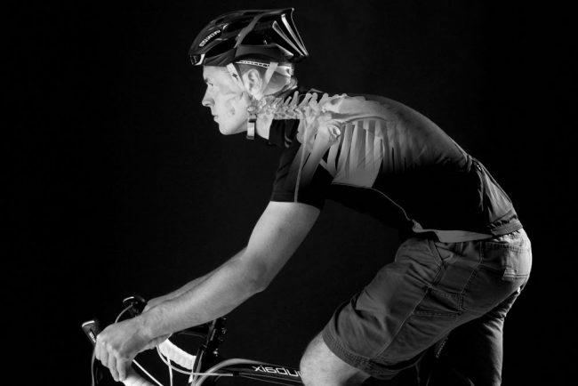 Dolori cervicali nel ciclismo