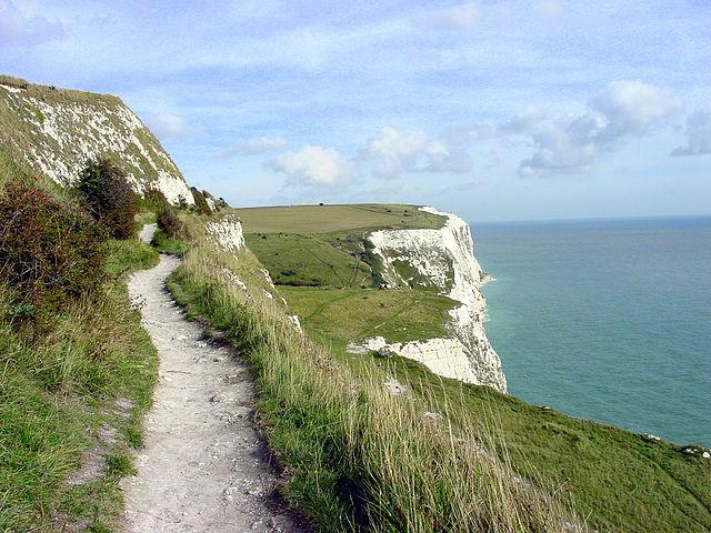Itinerario Londra-Dover in bicicletta