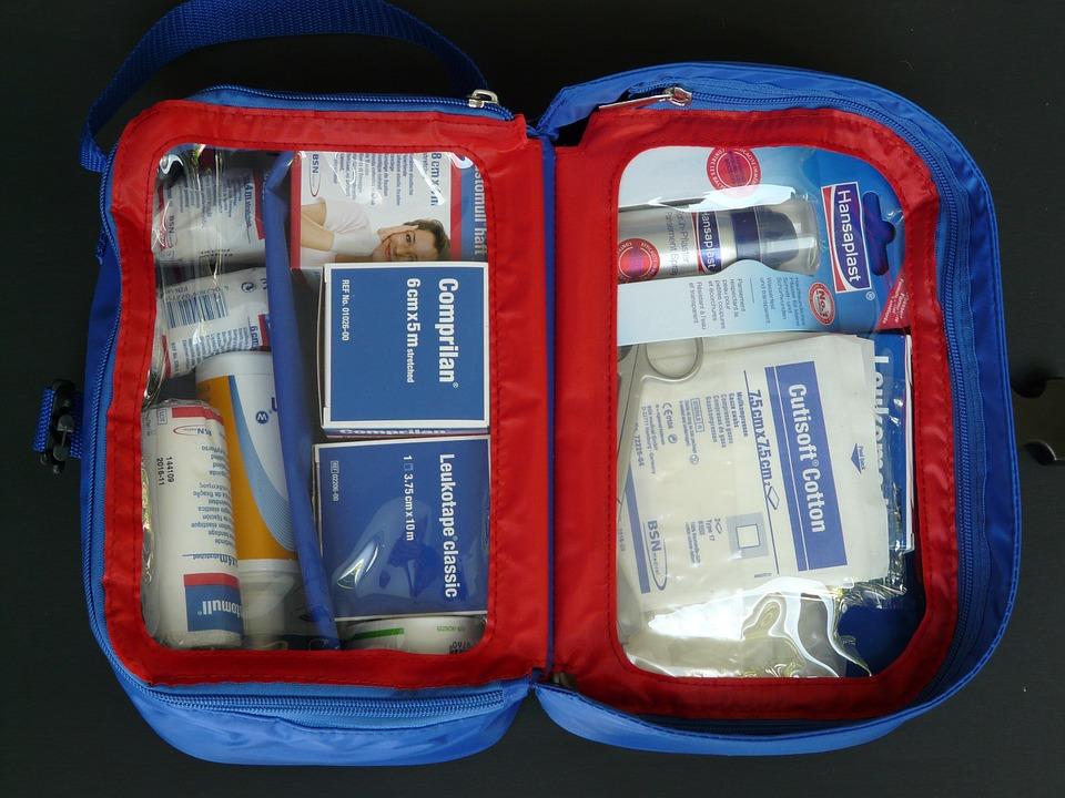 Kit di pronto soccorso per il cicloturismo