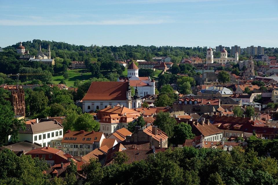 La rete di piste ciclabili in Lituania