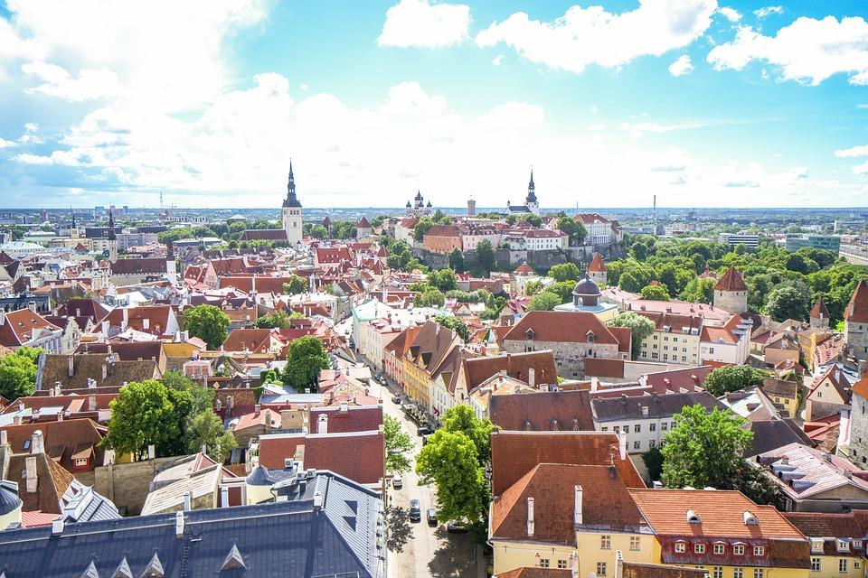 La rete di piste ciclabili in Estonia