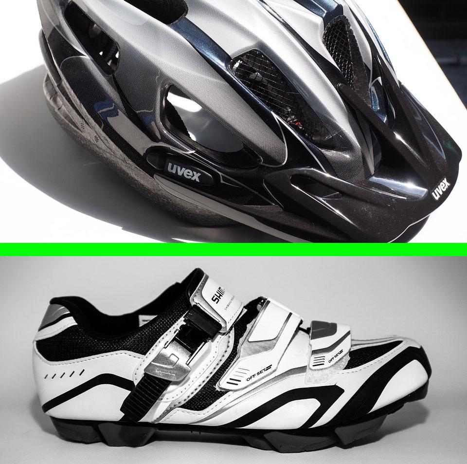Come pulire scarpe e casco da ciclismo
