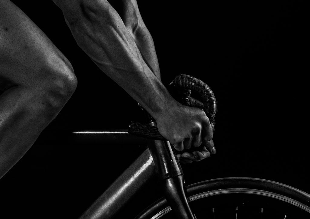 Il vantaggio di avere muscoli forti per il ciclista