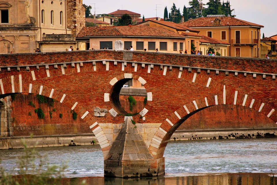 Bardolino – Verona in bicicletta lungo il percorso L1