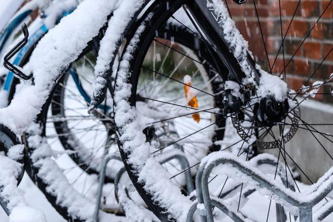 Consigli per andare in bici sulla neve