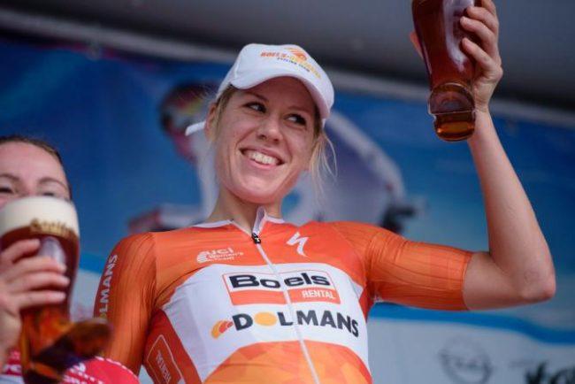 Amstel Gold Race.Trionfo di Chantal Blaak