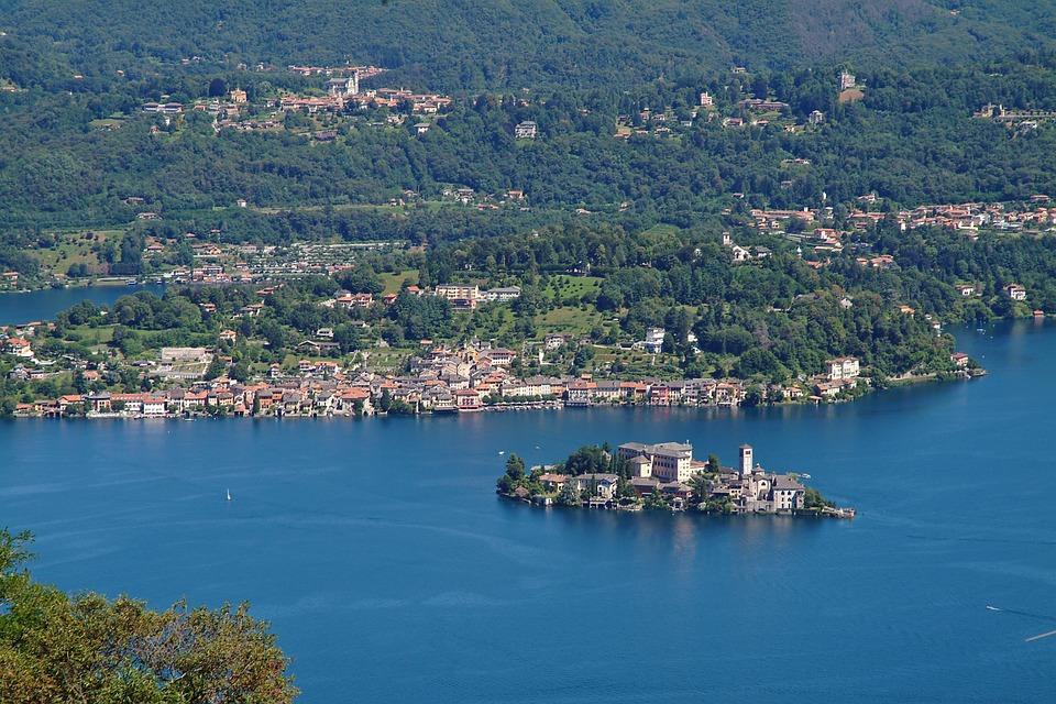Pedalando tra Vercelli ed il Lago d'Orta