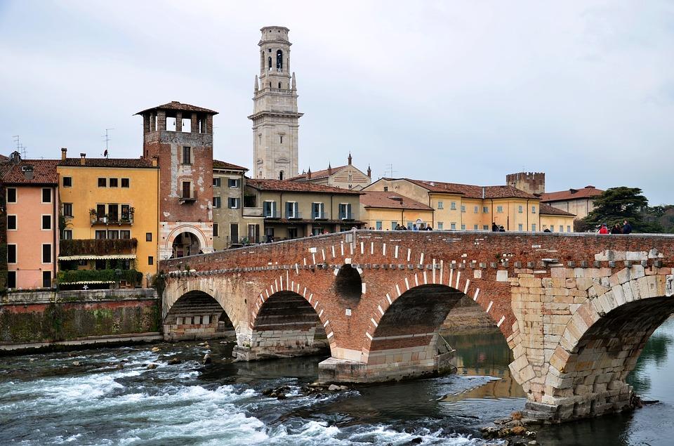Itinerario ciclabile dal Garda a Verona