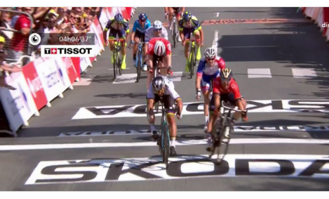 Tour de France. Trionfo di Sagan