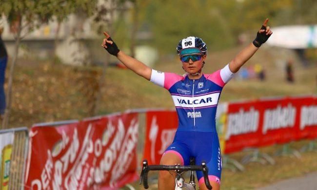 Successo di Nicole Fede nella settima tappa di Coppa di Piemonte .