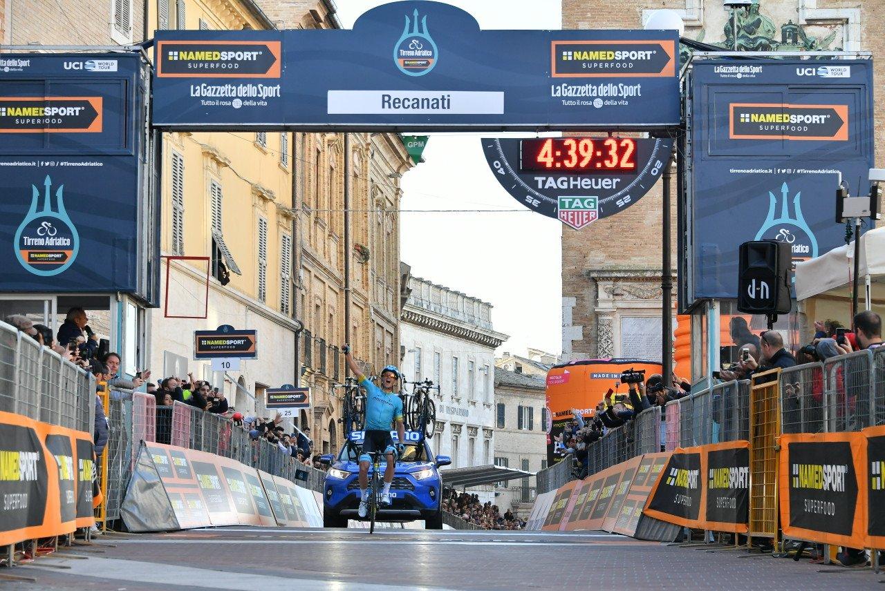 Successo di Jakub Fuglsang nella quinta tappa della Tirreno-Adriatico.