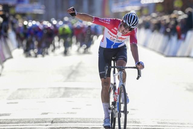Successo di Mathieu Van der Poel nel  Grand Prix de Denain Porte du Hainaut.