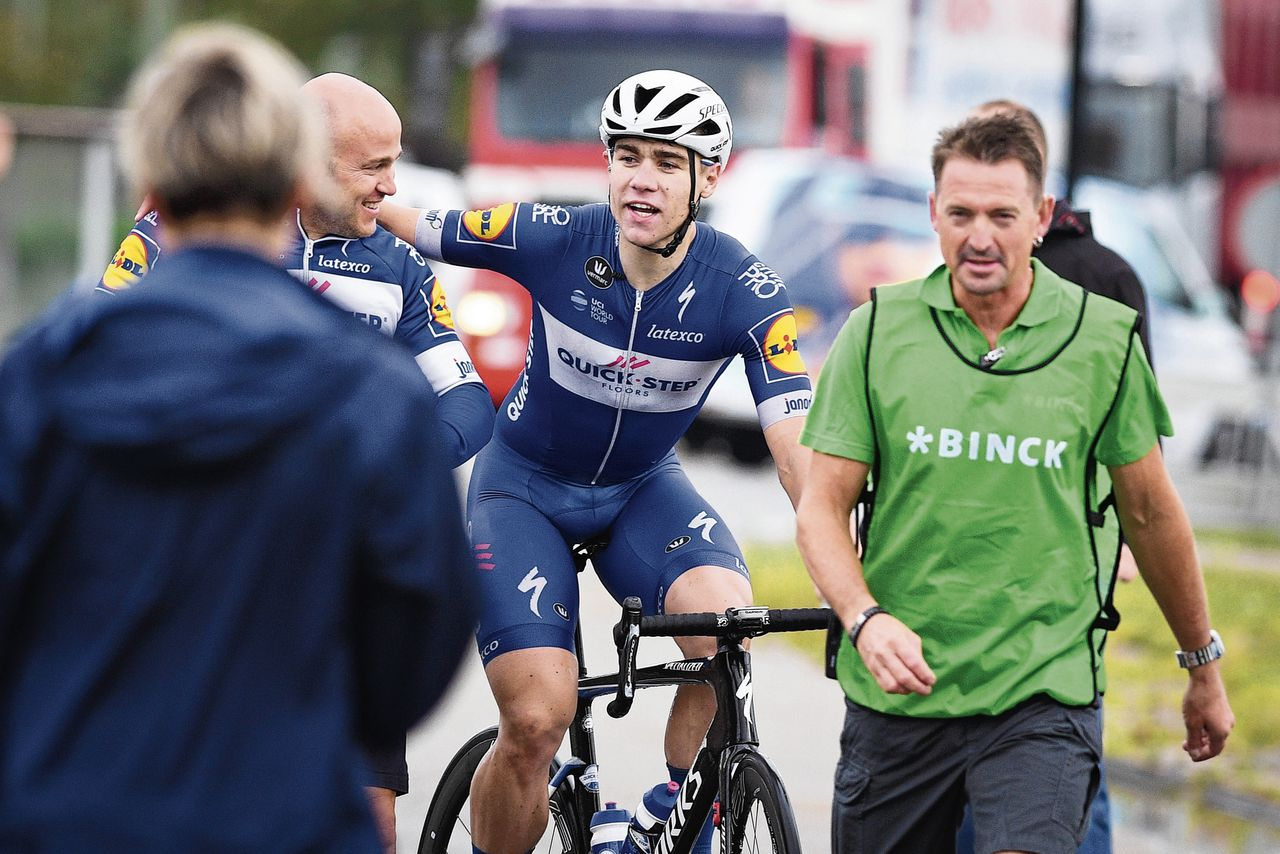 Successo di  Fabio Jakobsen nella terza tappa del Giro di Turchia .
