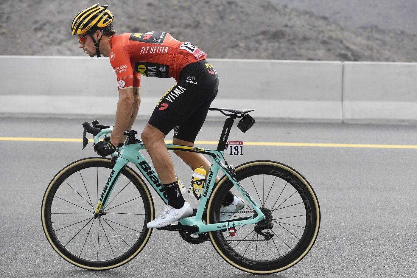 Successo di Primoz Roglic nell'ultima tappa del Tour de romandie.