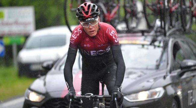 Niente Tour de France per Chris Froome.