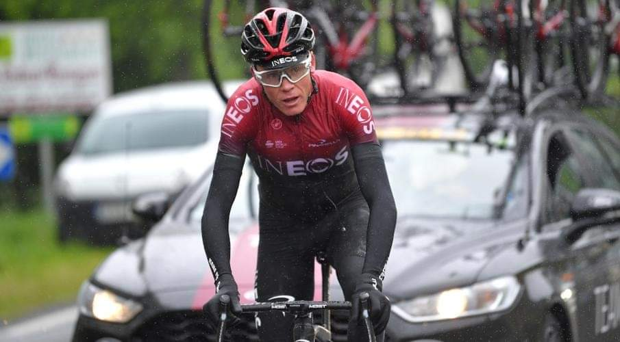 Niente Tour de France per Chris Froome.