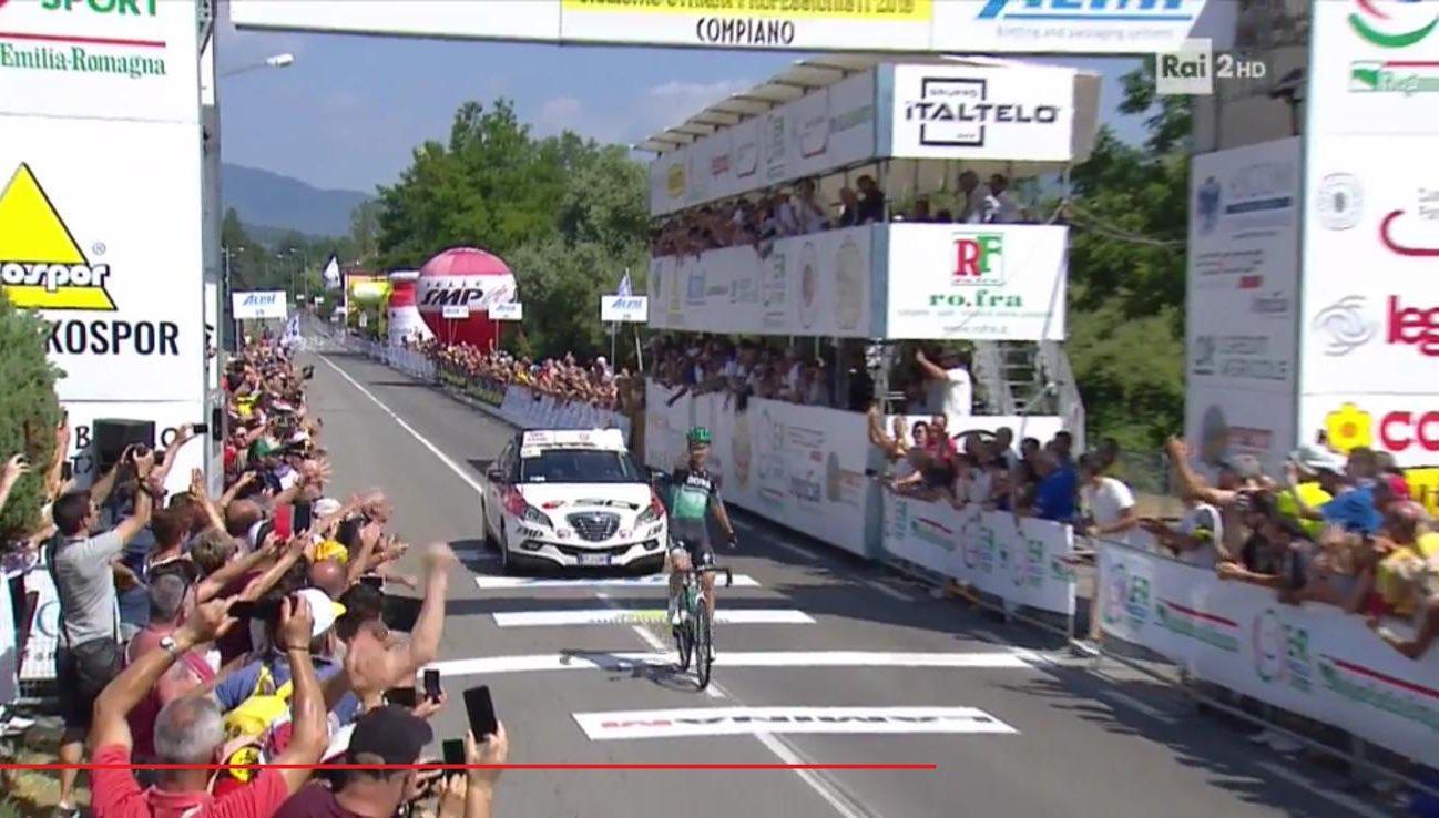 Davide Formolo è il nuovo campione italiano.