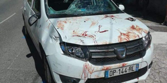 Bruttissimo incidente stradale durante lo svolgimento del Tour Paca.