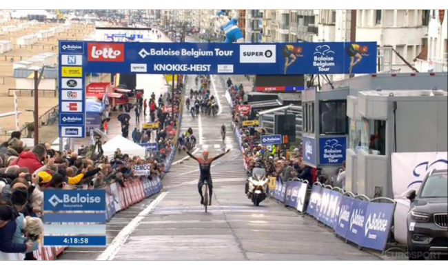 Successo di Jan Willem Van Ship nel Baloise Belgium Tour.