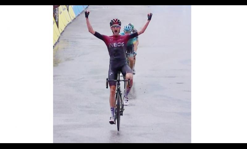 Successo di Wout Poels nella settima tappa del Giro del Delfinato.