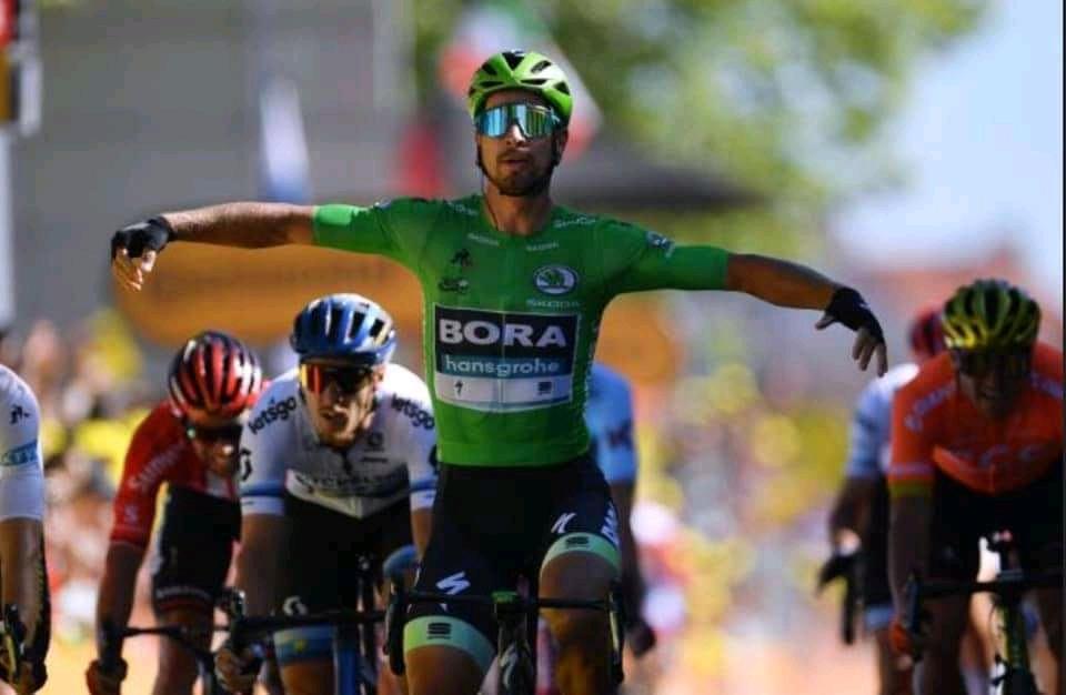 Super vittoria di Peter Sagan #TourdeFrance.