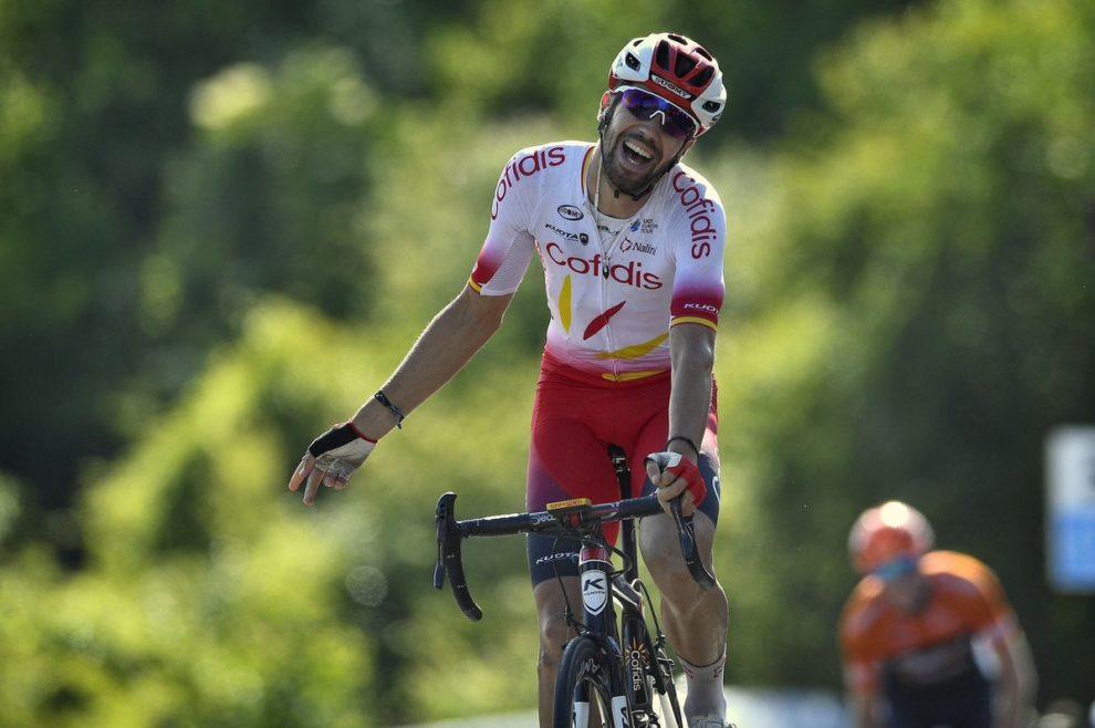 Vittorio per distacco di JESUS Herrada alla Vuelta espana.