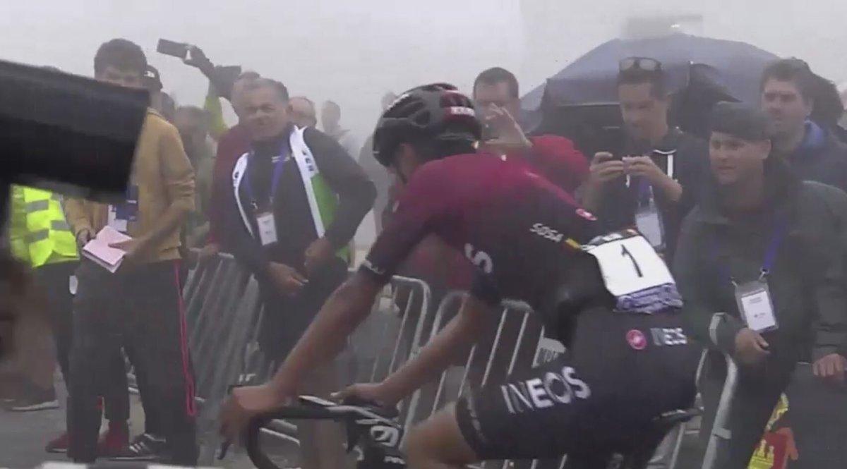 Trionfo in solitaria di Ivan Sosa nella Vuelta a Burgos.