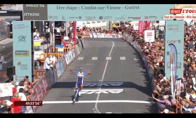 Splendida vittoria di Lilian Calmejane nel Tour du Limousin.