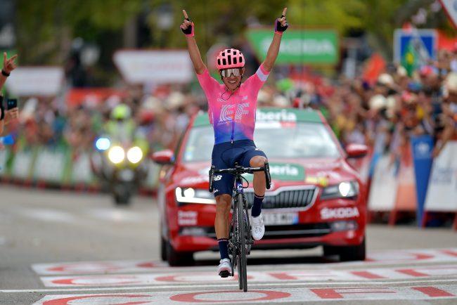 Successo di SERGIO ANDRES Higuita alla Vuelta espana.