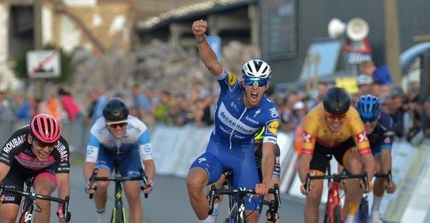 Successo di Jannik Steimle  nella Kampioenschaap Van Vlaanderen.