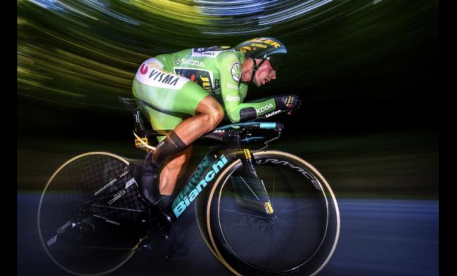 Super prova a Cronometro di Primoz Roglic alla Vuelta espana.