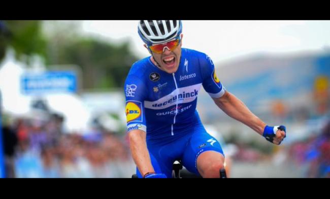 Trionfo in solitaria per RÉMI CAVAGNA alla Vuelta espana.